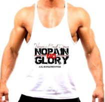 Camiseta Cavada NO PAIN NO GLORY
