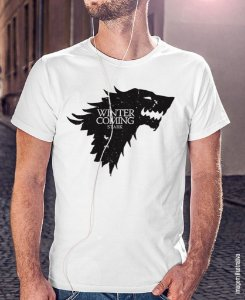 Camiseta Guerra dos Tronos - Stark Winter is Coming