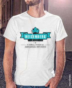 Camiseta Breaking Bad - Blue Crystal Meth