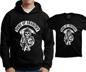 Camiseta Sons of Anarchy (ou moleton)