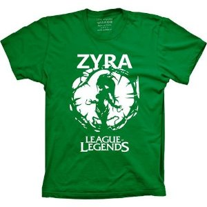 Camiseta League of Legends - Zyra