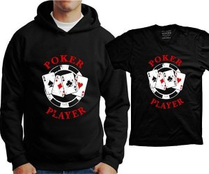 Camiseta Poker Player (ou moleton)