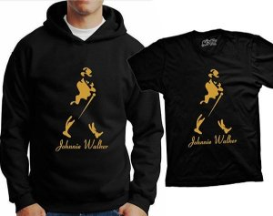 Camiseta Johnnie Walker - Whisky  (ou moleton)