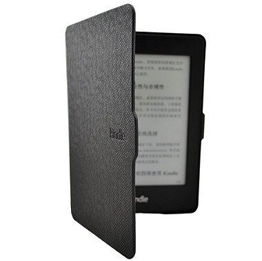 Capa Kindle Paperwhite Ultra Slim Auto Liga Desliga Preta