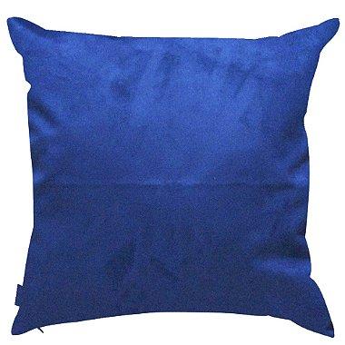 Almofada Azul Lisa 45x45