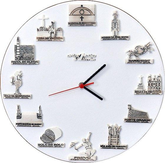 Relógio de parede - PE.
