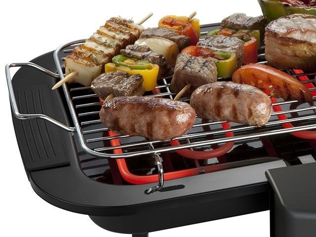 Churrasqueira Eletrica Black Grill Com Regulador de Temperatura