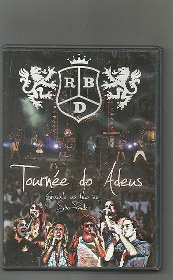 DVD RBD tournée do Adeus
