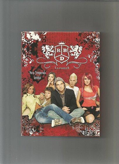 DVDs RBD La Família (3 DVDs) dublado em português