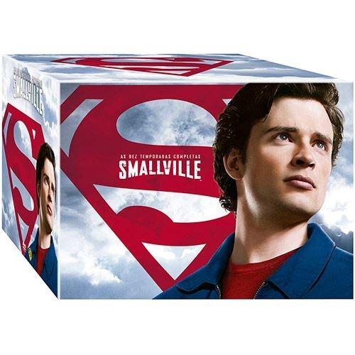 DVD - Coleção Completa Smallville - As 10 Temporadas (60 Discos)