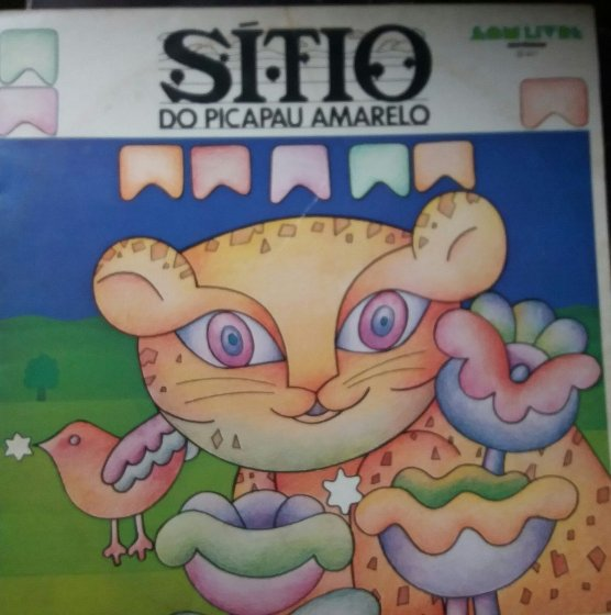 Disco de Vinil - Sitio do Picapau Amarelo (1977)