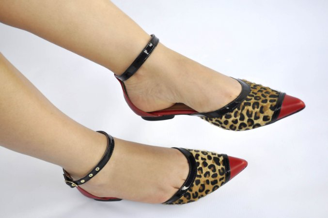 ca4a6b2ab7 Sapatilha Animal Print Red - Anny Shoes