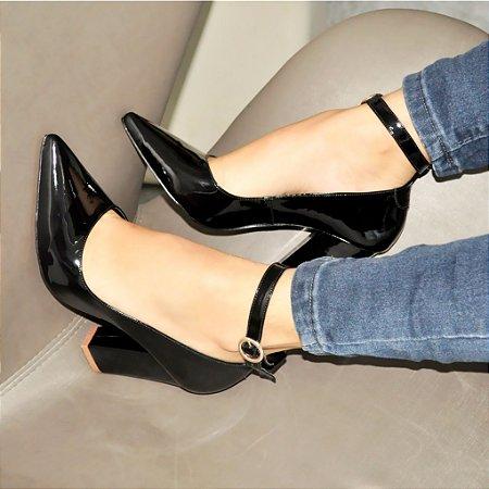 7e9c5c5665 Sapato Scarpin Verniz Preto - Anny Shoes