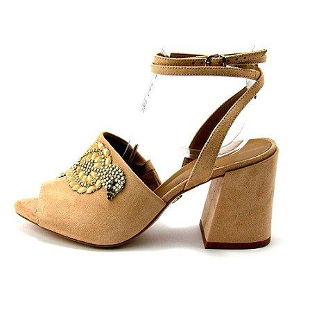 e5959958f4 Tamanco Salto Sino Bege - Anny Shoes