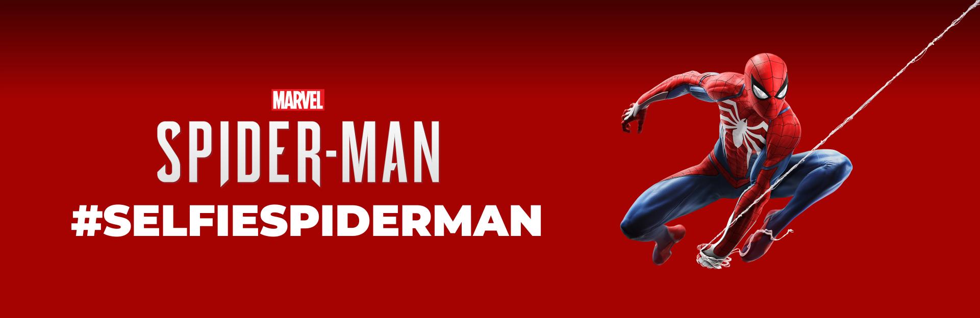 Selfie com Spider-Man