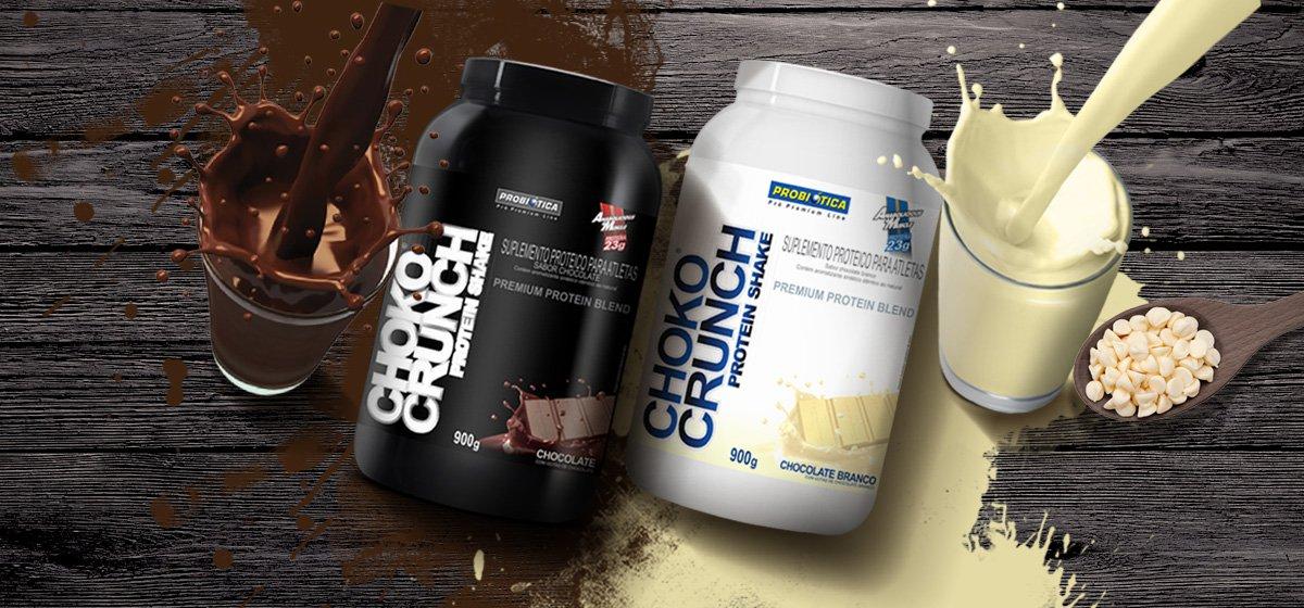 Resultado de imagem para Choko Crunch Protein Shake - Probiótica - 900g
