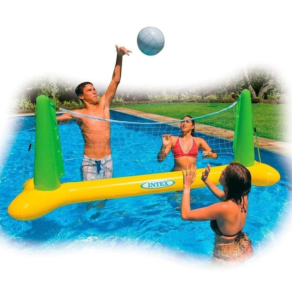 Kit volei infl vel para piscina com bola e rede intex for Oferta de piscina