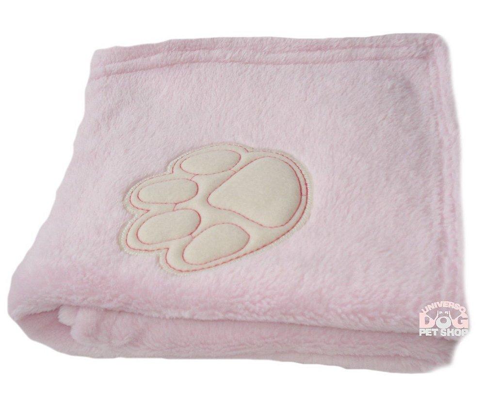 Cobertor Pet de Soft com bordado Rosa. Código  VV4MBQ4YW. Cobertor Pet ... 31e1ef8135cf9