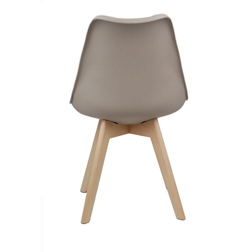 Cadeira Eames Leda Com Assento Estofado Kelter - KELTER