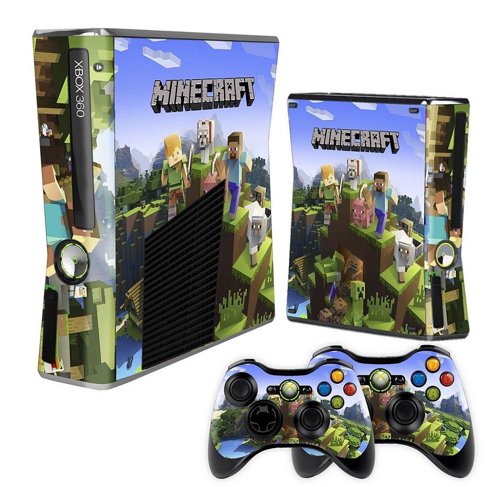 Skin Xbox 12 Slim - Minecraft New Design - 12 - Tf Arts Adesivos