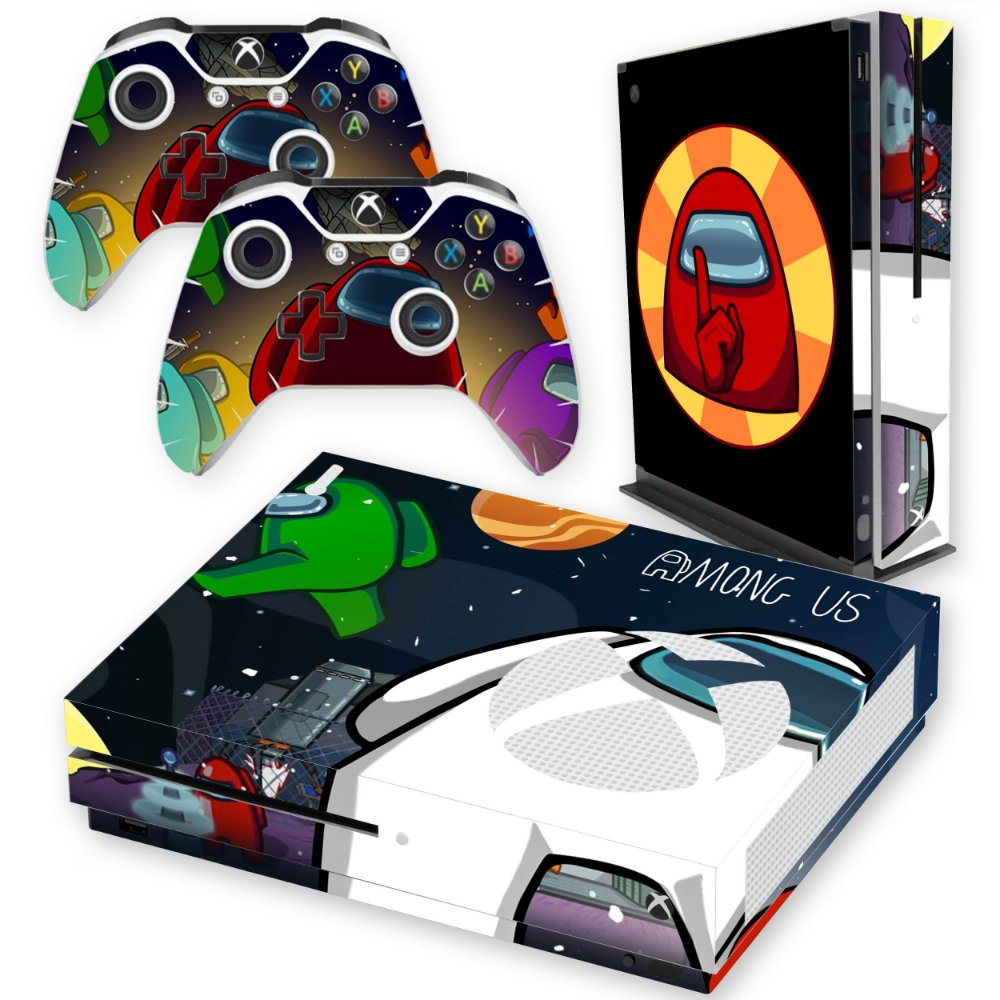 Skin Xbox One S Among Us 215 Tf Arts Adesivos Personalizados