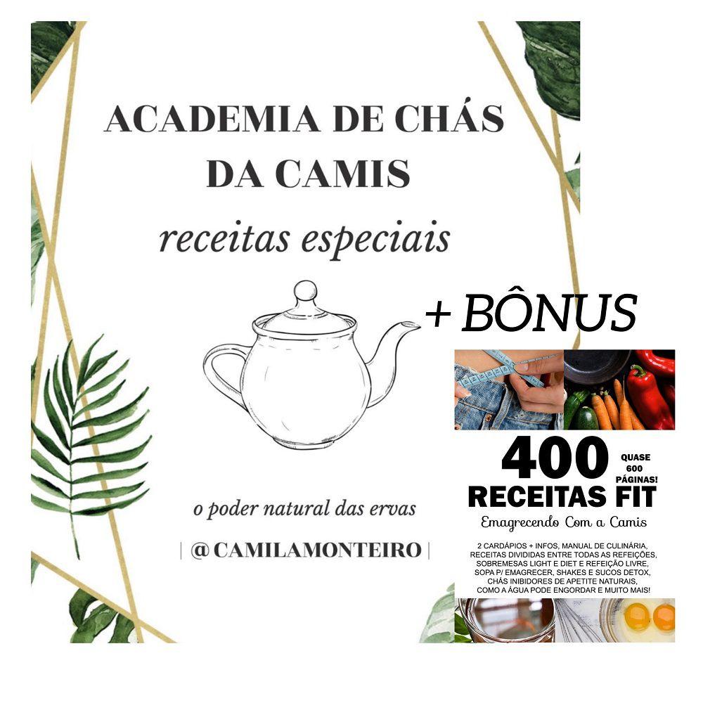 Academia De Chás Receitas + BÔNUS Fitness Emagrecimento - Curso ...