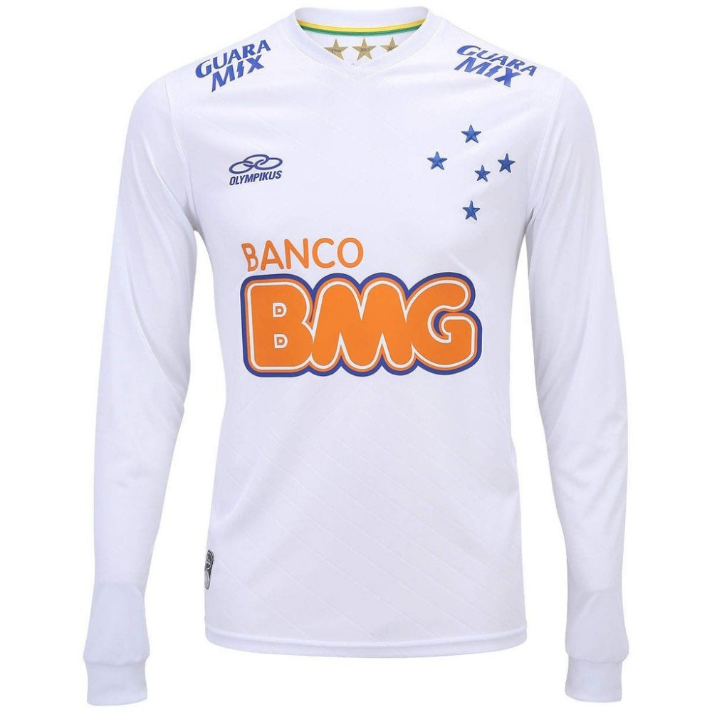 Camisa do Cruzeiro I 2014 Manga Longa nº10 Olympikus - Tamanho GG ... c44ef2c2a71d1