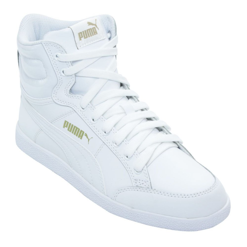 Tenis Puma Ikaz Mid Classic Branco - Sportlet Sneakers 237d6d71bf706