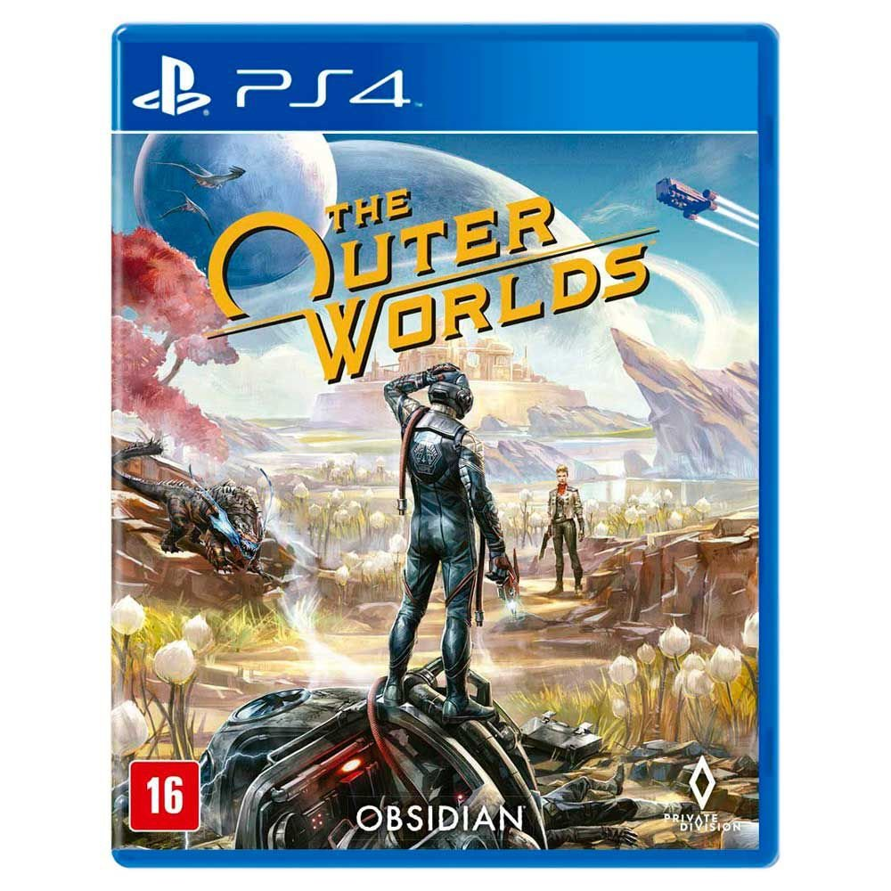 Jogo The Outer Worlds - Playstation 4 - Obsidian Entertainment