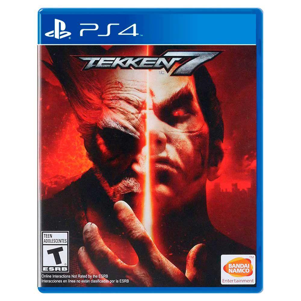Jogo Tekken 7 - Playstation 4 - Bandai Namco Games