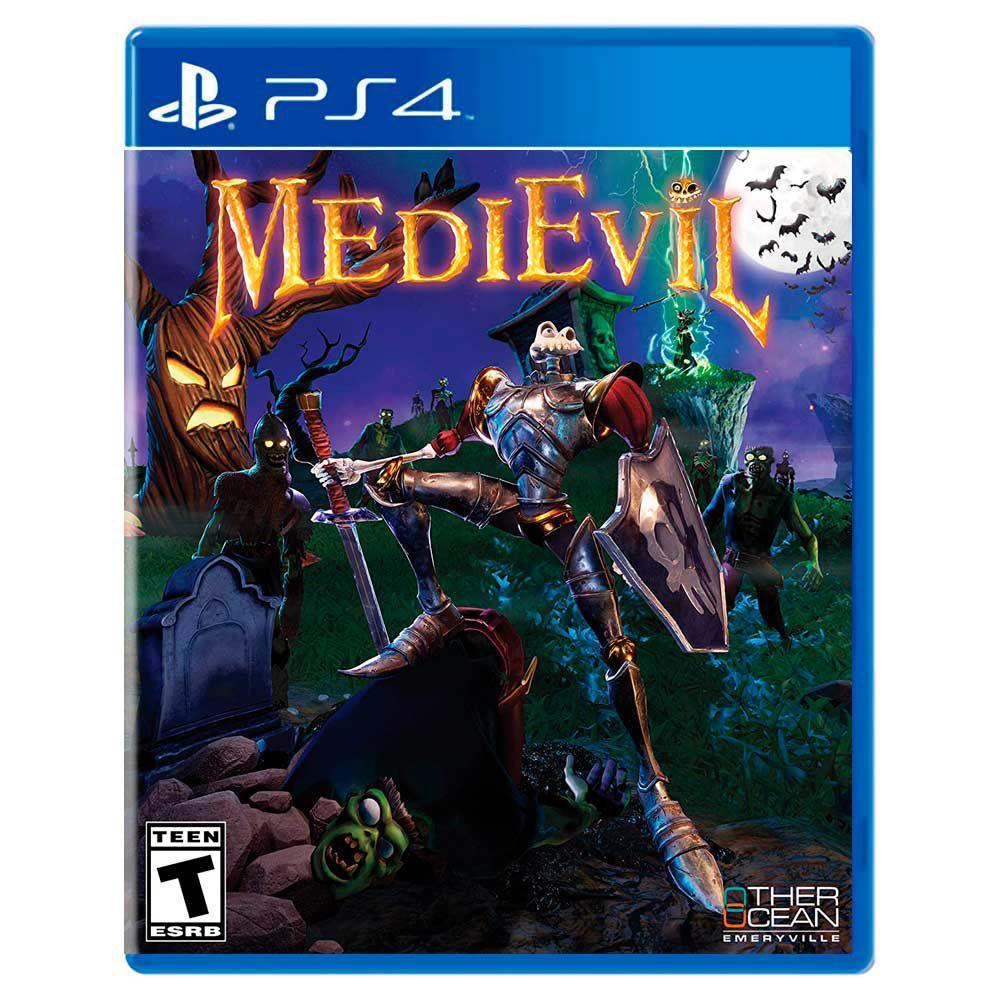 Jogo Medievil - Playstation 4 - Sieb