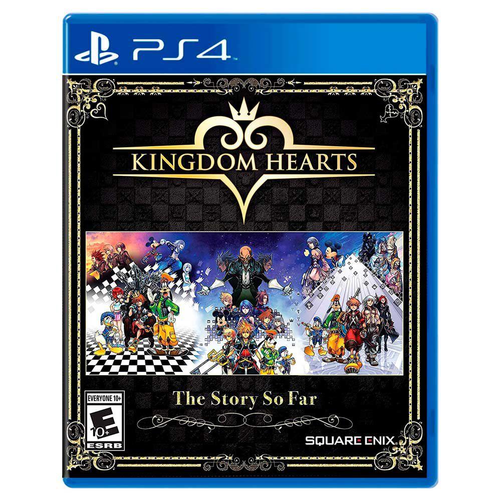 Jogo Kingdom Hearts The Story So Far - Playstation 4 - Square Enix