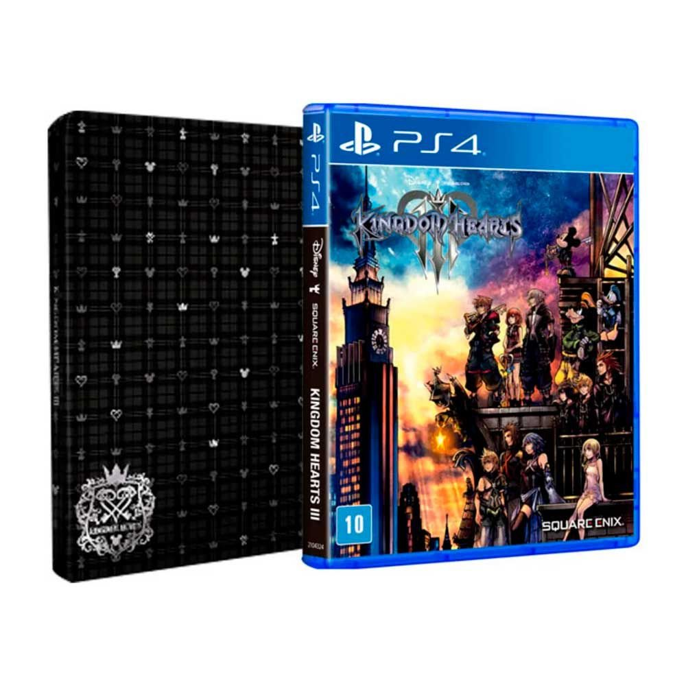 Jogo Kingdom Hearts Iii - Playstation 4 - Square Enix