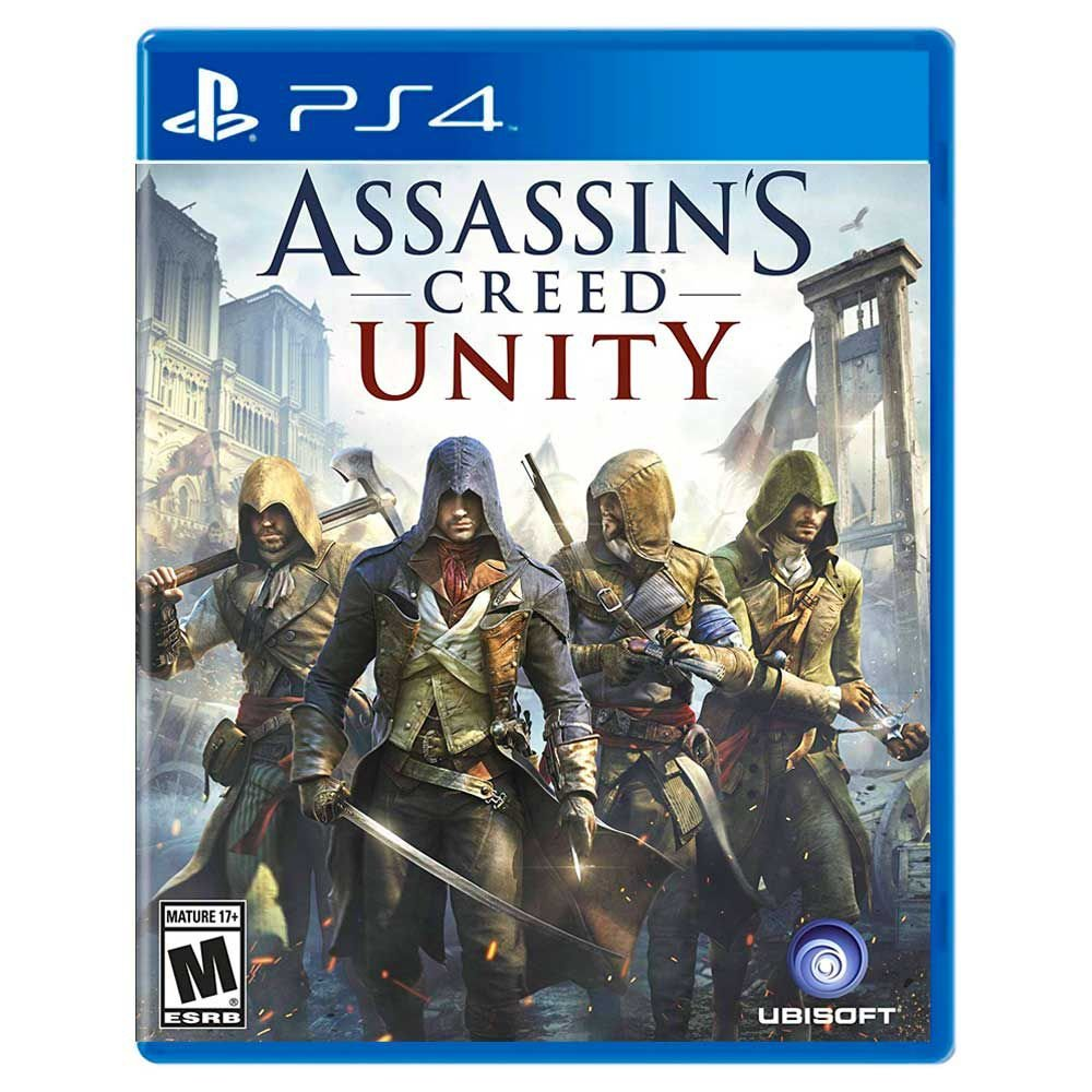 Jogo Assassin's Creed: Unity - Playstation 4 - Ubisoft