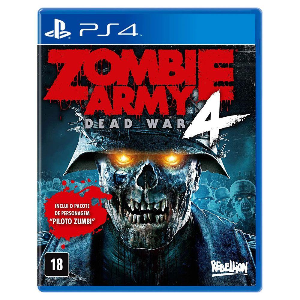 Jogo Zombie Army 4 Dead War - Playstation 4 - Rebellion