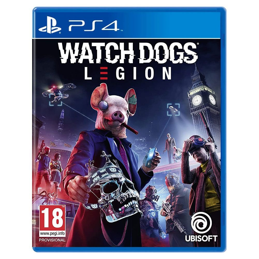 Jogo Watch Dogs Legion - Playstation 4 - Ubisoft