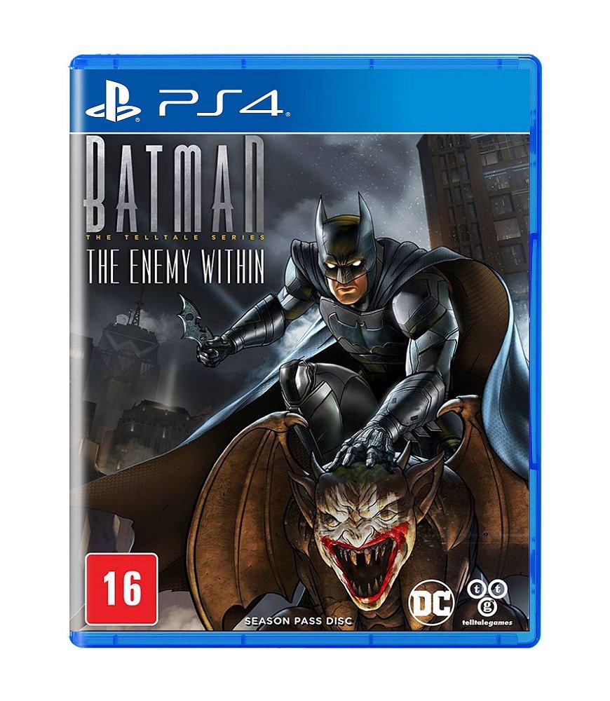 Jogo Batman The Enemy Within - Playstation 4 - Sony