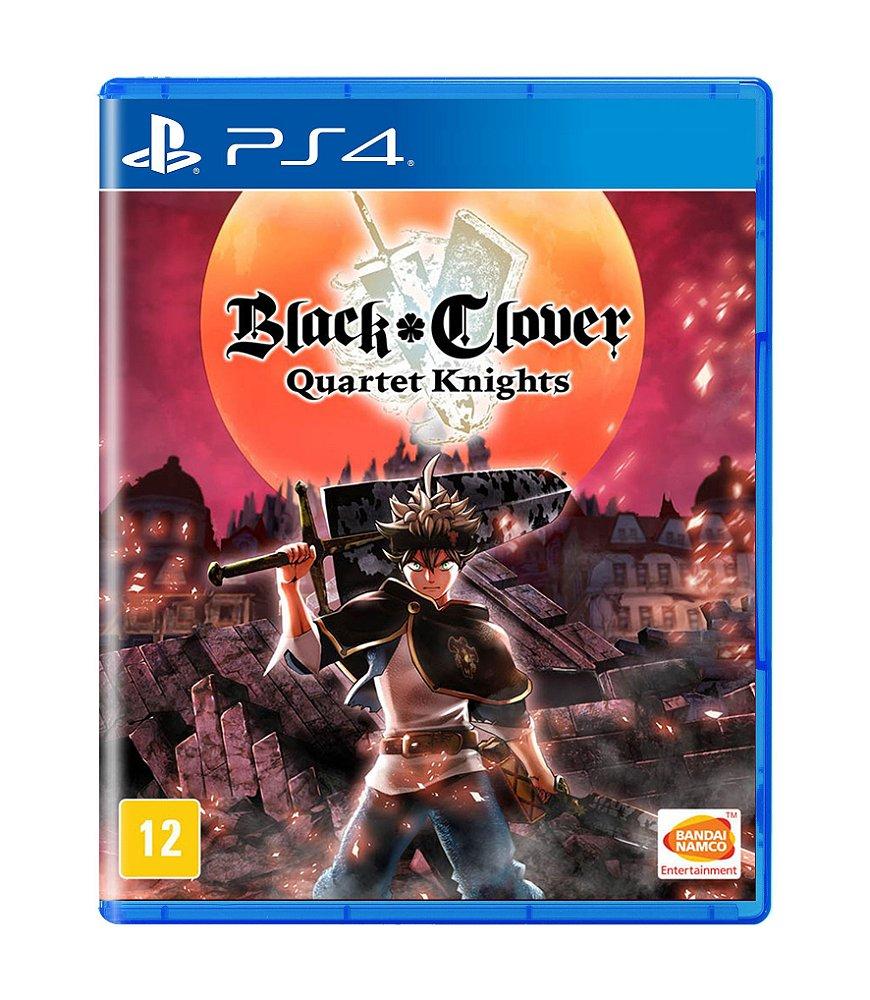 Jogo Black Clover Quartet Knights - Playstation 4 - Bandai Namco Games