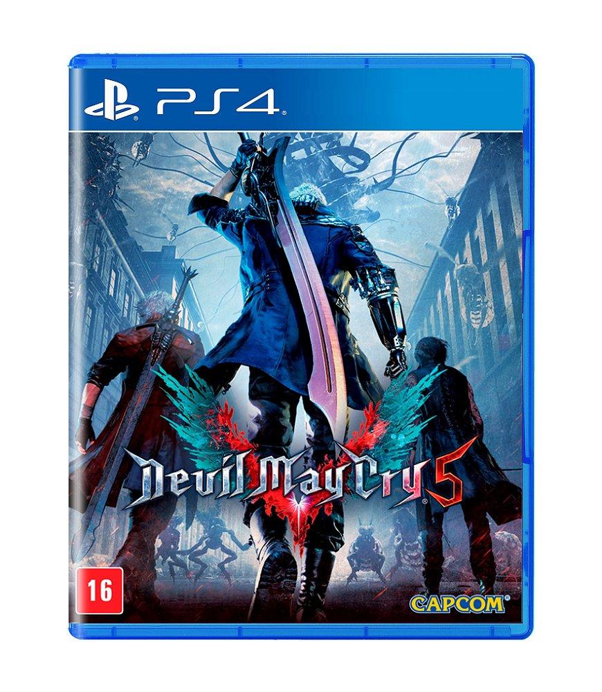 Jogo Devil May Cry 5 - Playstation 4 - Capcom