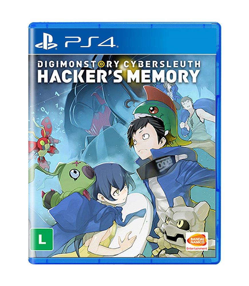 Jogo Digimon Story Cyber Sleuth: Hackers Memory - Playstation 4 - Bandai Namco Games