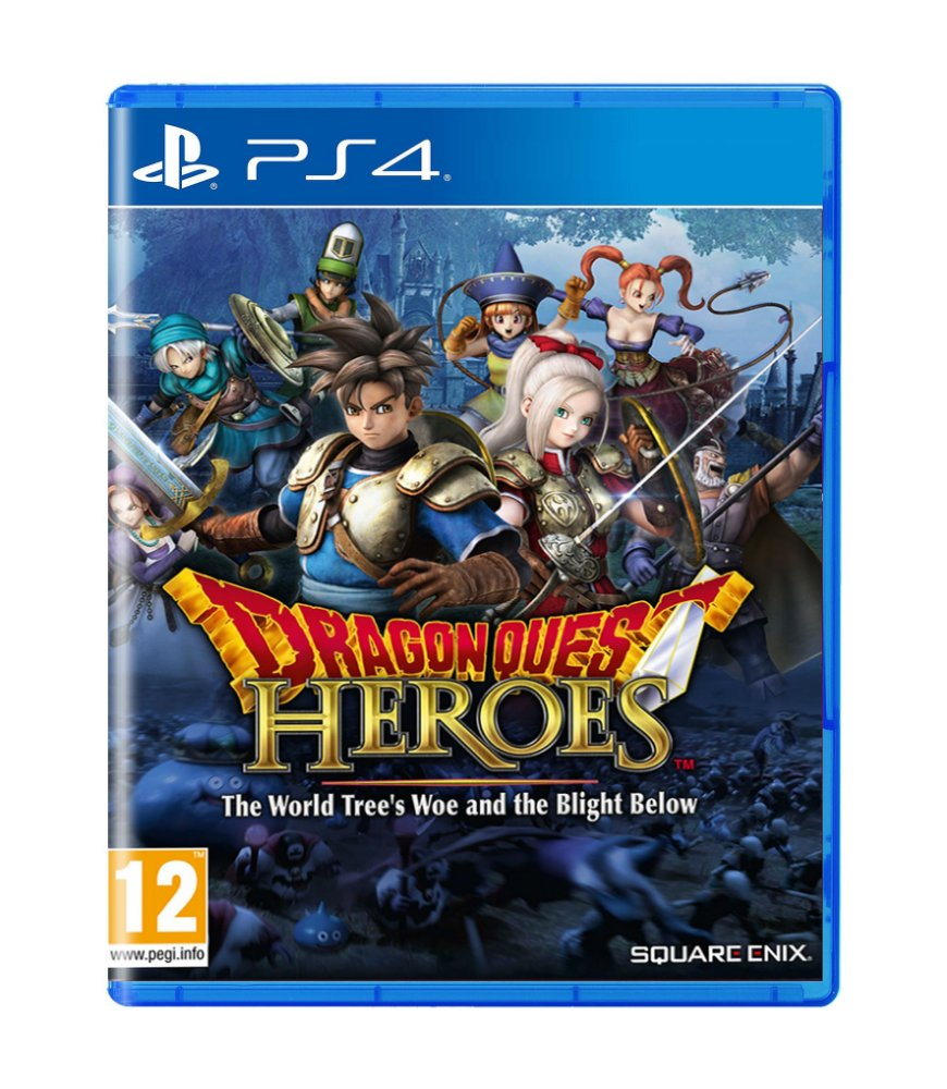 Jogo Dragon Quest Heroes The World's Tree Woe And The Blight Below - Playstation 4 - Square Enix