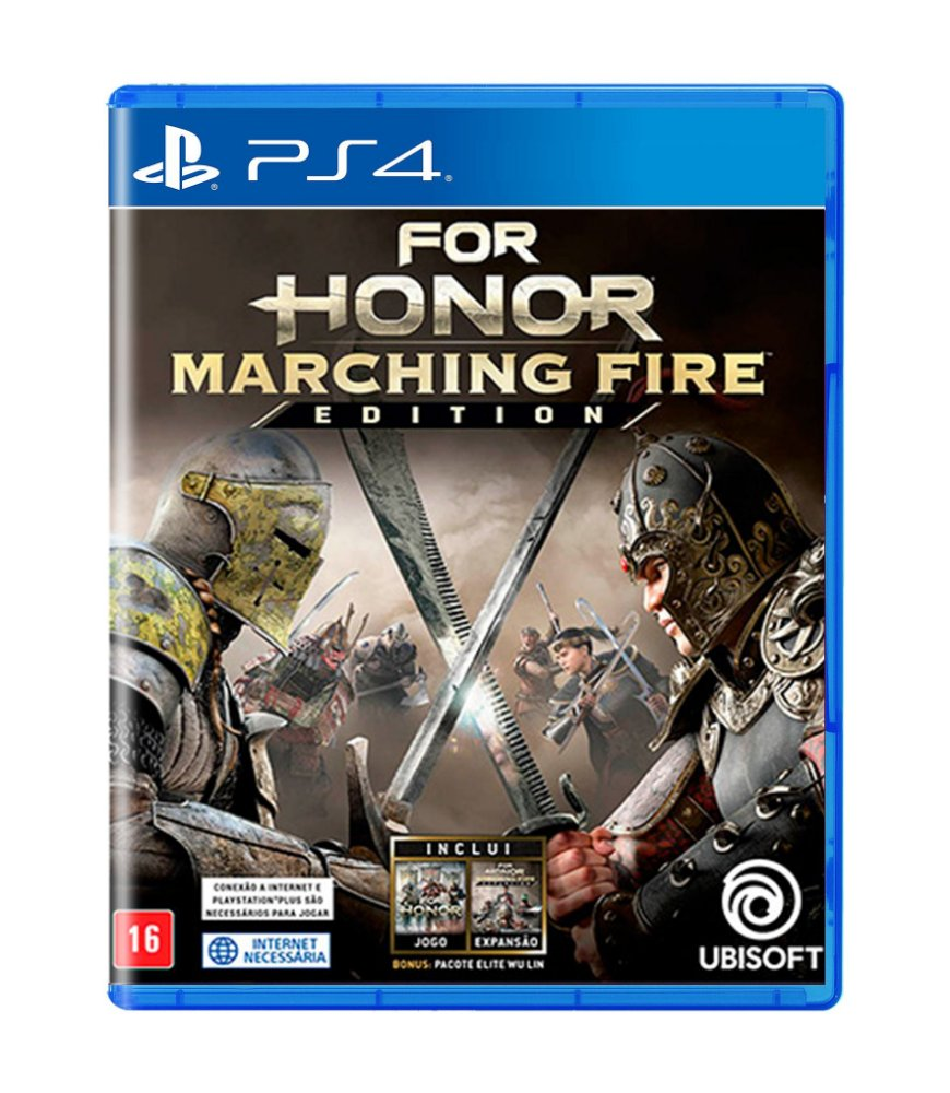 Jogo For Honor Marching Fire Edition - Playstation 4 - Ubisoft