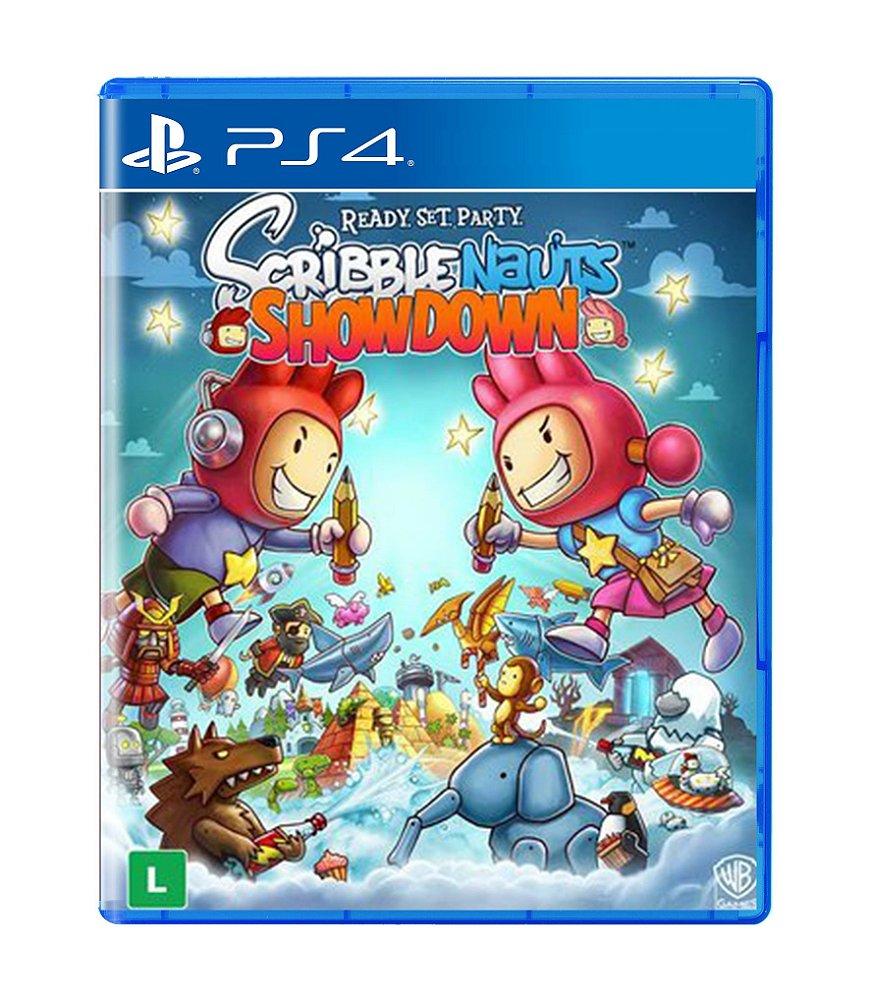 Jogo Scribblenauts Showdown - Playstation 4 - Warner Bros Interactive Entertainment