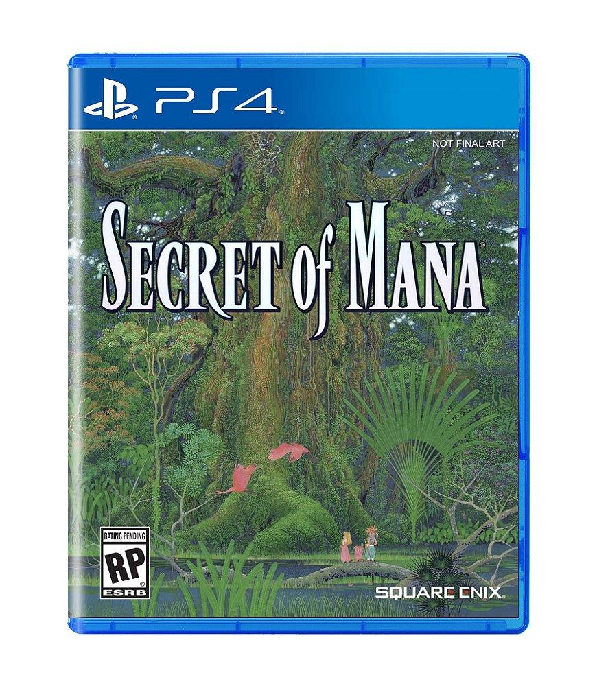 Jogo Secret Of Mana - Playstation 4 - Square Enix