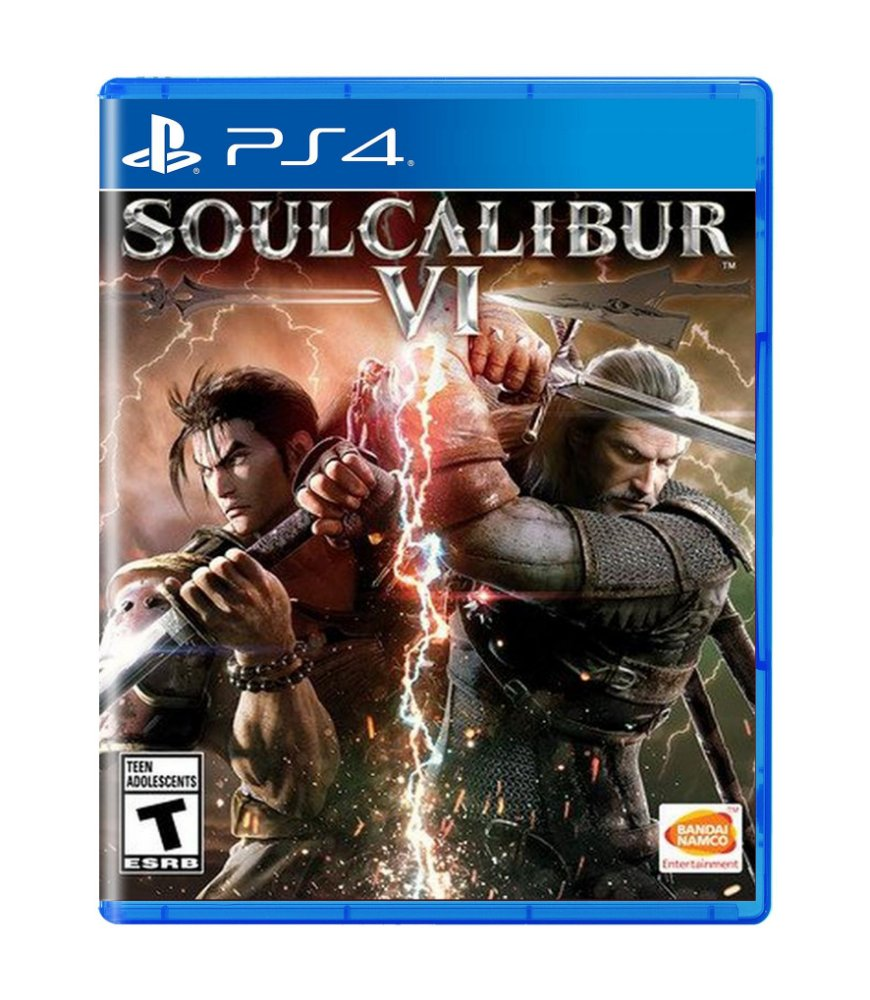 Jogo Soul Calibur Vi - Playstation 4 - Bandai Namco Games