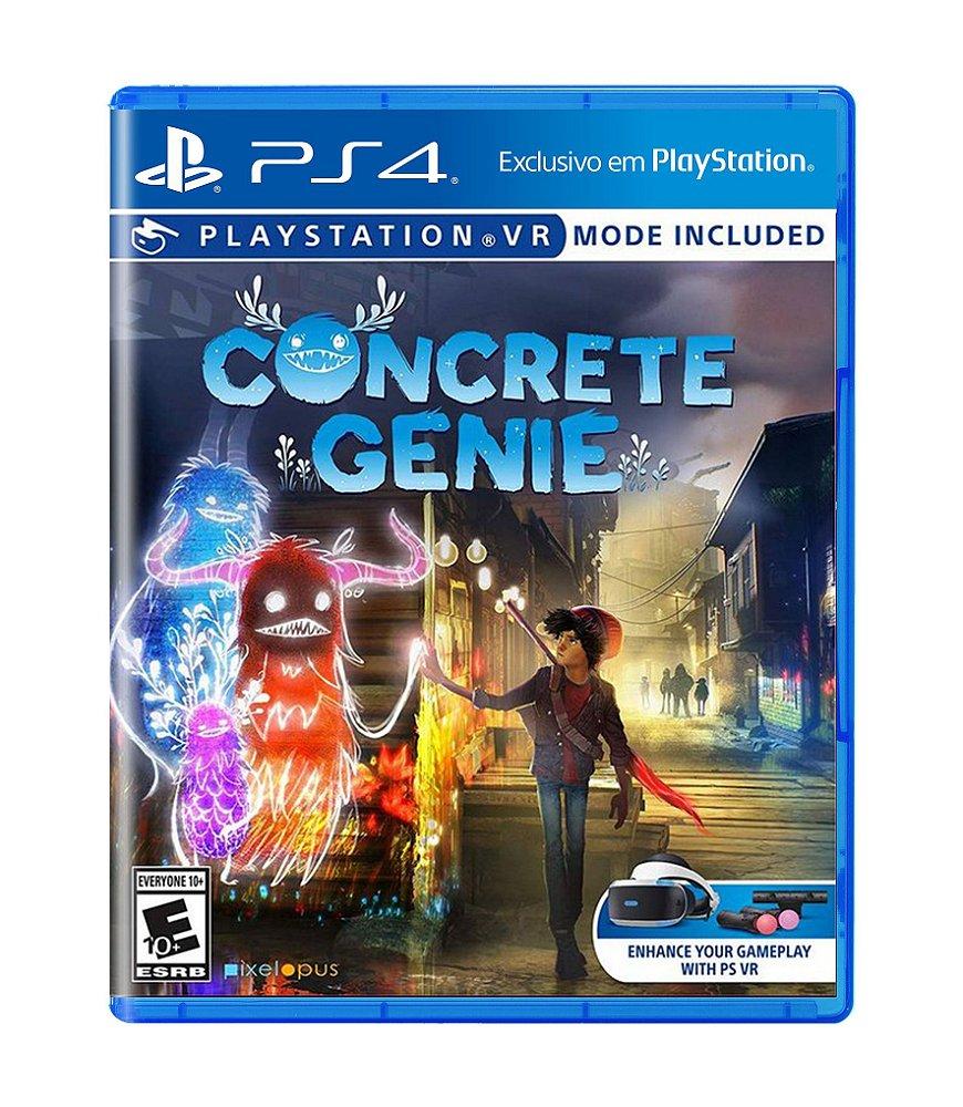 Jogo Concrete Genie - Playstation 4 - Pixelopus