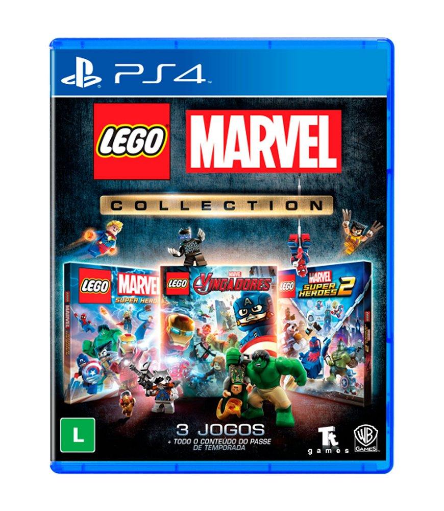 Jogo Lego Marvel Collection - Playstation 4 - Nintendo