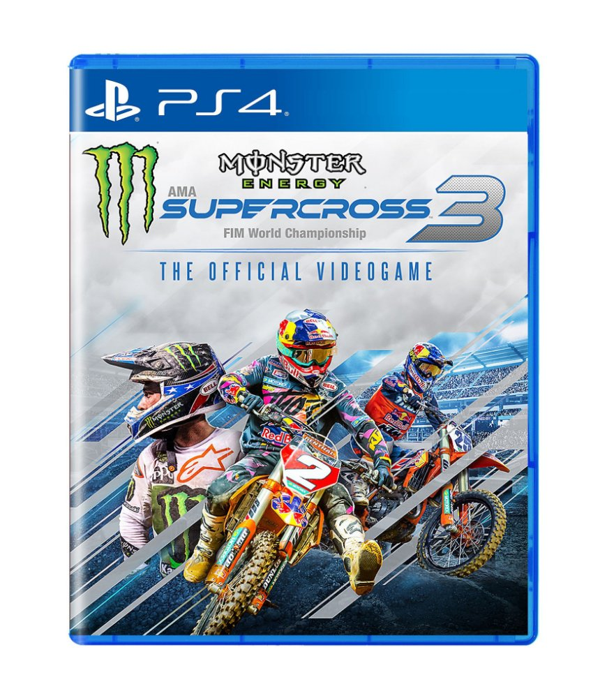 Jogo Monster Energy Supercross - The Official Videogame 3 - Playstation 4 - Milestone