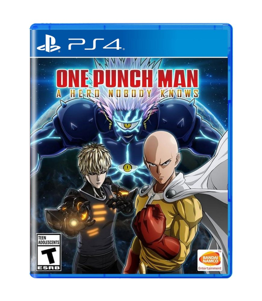 Jogo One Punch Man: a Hero Nobody Knows - Playstation 4 - Spike Chunsoft
