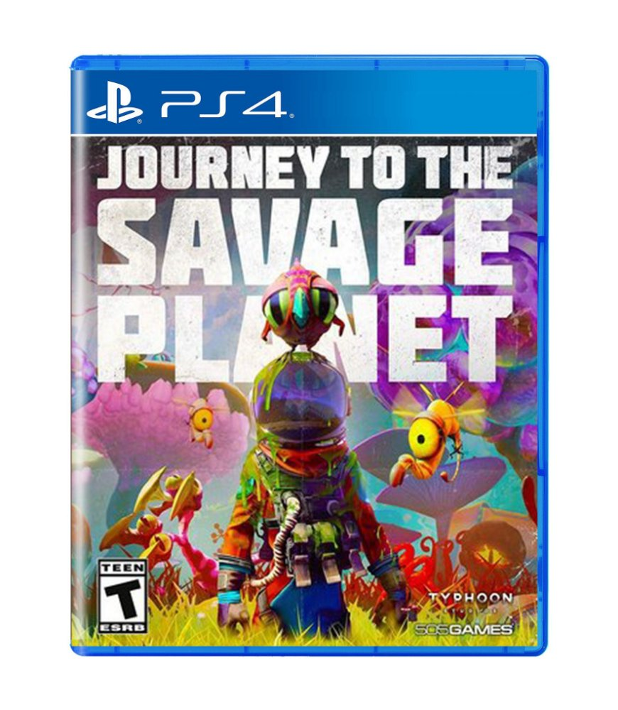 Jogo Journey To The Savage Planet - Playstation 4 - 505 Games